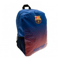 Barcelona FC Football Club Backpack Rucksack Bag Red Blue Fade Design Official