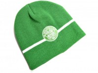Official Basic Glasgow Celtic Football Club Green Knitted Beanie Hat Club Crest