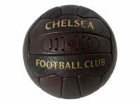 Chelsea FC Retro Leather Laces Football Old School Size 5 Official