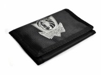 Dallas Mavericks Tri-Fold Wallet  Fastening Team Crest Basketball NBA Black