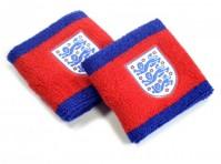 England FA Football Club Official Red Navy Wristbands Sweat Badge Crest Lions