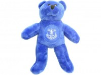 Everton FC Solid Football Club Beanie Teddy Bear Blue Fan Gift Idea Official