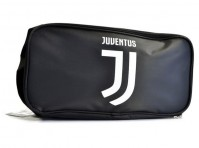 Juventus Football Club Official Black And White Boot Bag School Gym Badge Crest