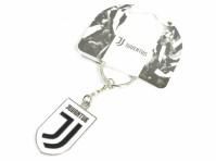 Juventus Football Club Official Enamel Metal Crest Keyring Keychain New Team Logo Italy