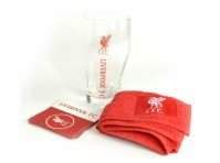 Liverpool FC Football Club Mini Bar Set Official Club Team Merchandise