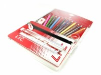 Liverpool FC Ultimate Stationery Set Pencil Case A4 Notebook Official