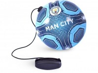 Manchester City FC Skills Practice Training Ball Size 2 Team Colours With Crest