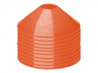Nike Official Pack Of 10 Neon Orange Training Cones Sports Football Sport Marker