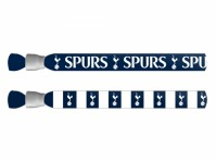 Tottenham Hotspur Spurs 2 Pack Footy Festival Wristbands Football Club