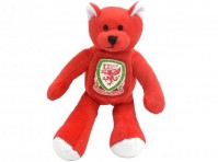 Wales Football Club Official Mini Bear Red Crest Badge Baby Teddy Fan Kids