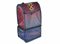 West Ham Utd FC Football Club Blue Claret Fade Design Lunch Box Bag Official