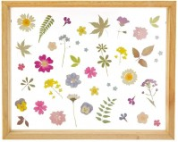 Pressed Flowers Wooden Photo Frame Wall Art Photo Picture Landscape Hanging