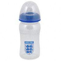 England FA Football Club Wide Neck Feeding Bottle Official Baby Gift New Born