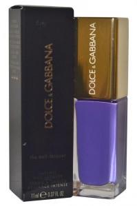 Dolce & Gabbana The Nail Lacquer Amethyst 11ml Varnish Polish Purple Manicure