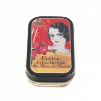 A Touch of Glamour Timeless Lotion Extra Surfine Storage Pill Tin Box Vintage