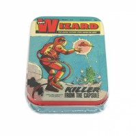 Classic Comics Collectors The Wizard Killer From The Capsule Metal Storage Tin