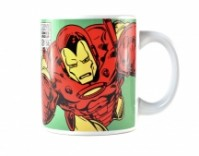 Marvel Comics Iron Man Boxed Mug Shield Logo Ceramic Official Merchandise