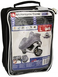 Motorcycle Motor Bike Cover Large Straps Buckles Hooks Secure Breathable Case
