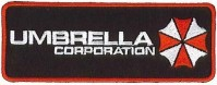 Resident Evil Rectangle Size Umbrella Corporation Logo Clothing Patch