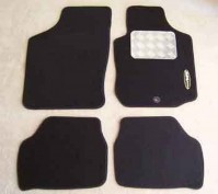 Vauxhall Corsa C (2001-2007) Tailored Car Mats With Drivers Side Metal Heel Pad