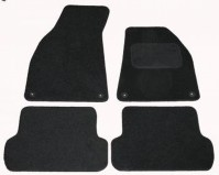 Audi A4 (2002-2006) Tailored Black Carpet Car Floor Mats By AoE Performance