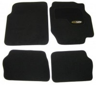 Nissan Almera (2000-2006) Black Tailored Car Mats