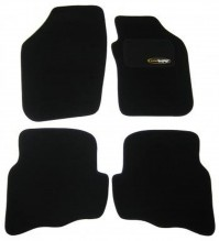 Seat Ibiza (2002-2006) Tailored Black Car Mats Set