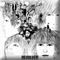 The Beatles Revolver Album LP CD Cover Pin Badge Metal Gift Idea Fan NEW