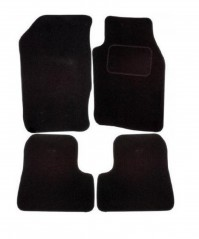 Nissan X-Trail (2001-2007) Exact Fit Tailored Black Carpet Car Floor Mats By AoE Performance
