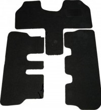Fiat Ulysse Tailored Black Car Mats