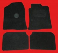 Toyota Avensis (2003-2008) Tailored Black Car Mats