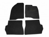 Ford Fusion Perfect Fit Tailored Black Car Mats