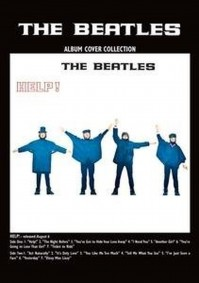 The Beatles Help Album Cover Postcard Fan Gift Idea 100% Official Merchandise