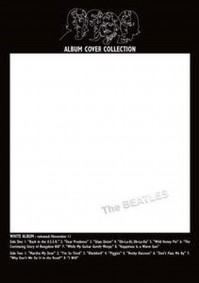 The Beatles White Album Cover Bordered Postcard Fan Gift Idea 100% Official