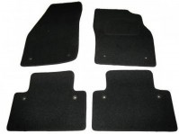 Volvo S40 (2004+) Tailored Black Car Mats With Fixing Holes