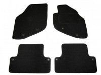 Volvo S60 Tailored Black Car Mats With Fixing Holes