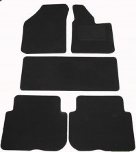 Renault Espace (2003-2007) Tailored Black Car Mats
