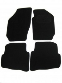 Seat Ibiza (2006+) Tailored Black Car Mats