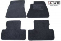 Lexus IS250 (2005+) Ultimate Tailored Black Car Mats