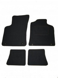 Audi TT (1999-2006) Premium Tailored Black Car Mats