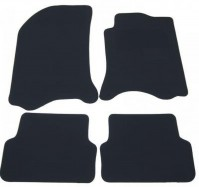 Renault Laguna Mk2 (2001-2008) Premium Tailored Black Car Mats