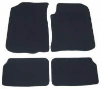Rover 75 Premium Tailored Black Car Mats