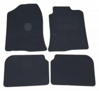 Toyota Avensis (2003-2008) Premium Tailored Black Car Mats