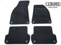 Chrysler 300C Saloon 2006 Onwards Black Tailored Floor Car Mats Set Premium Carpet