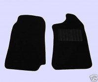 Toyota HI-LUX Up To 2005 (Single Cab) Tailored Black Van Mats