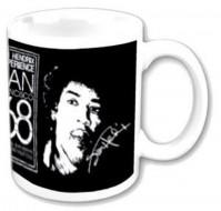 Jimi Hendrix Experience San Francisco 1968 White Coffee Mug Boxed Official Gift