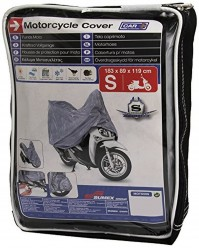 Motorcycle Motor Bike Cover Small Straps Buckles Hooks Secure Breathable Case