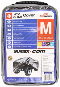 ATV Quad Bike Cover Medium Straps Buckles Hooks Secure Breathable Carry Case