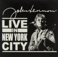 John Lennon Metal Fridge Magnet Live In NYC New York Album Fan Gift Official