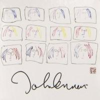 John Lennon Metal Fridge Magnet Self Portrait Tiles Album Fan Gift Official